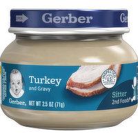 Gerber Turkey & Gravy, 2.5 Ounce