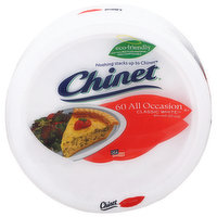 Chinet Plates, Classic White, All Occasion, 8.75 Inch, 60 Each