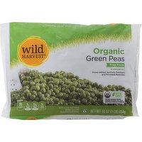 Wild Harvest Green Peas, Organic, 16 Ounce