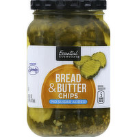 Essential Everyday Bread & Butter, Chips, 16 Ounce