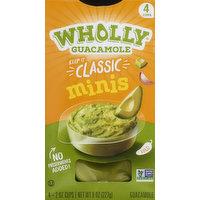 Wholly Guacamole, Mild, Minis, 4 Each