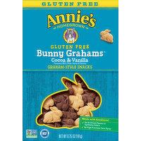 Annie's Snacks, Gluten Free, Cocoa & Vanilla, Graham-Style, 6.75 Ounce