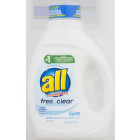 all all Stainlifters Free and Clear Laundry Detergent, 36 Fluid ounce