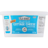 Old Home Cottage Cheese, 4% Milkfat Minimum. Small Curd, 12 Ounce