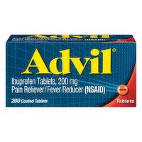 Advil Ibuprofen, 200 mg, Coated Tablets, 200 Each