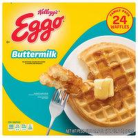 Eggo Waffles, Buttermilk, Family Pack, 24 Each