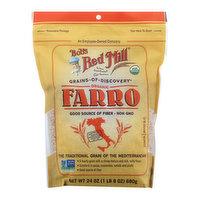Bobs Red Mill Farro, Organic, 24 Ounce