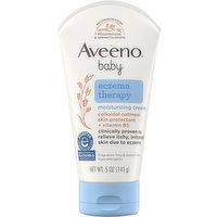 Aveeno Moisturizing Cream, Eczema Therapy, 5 Ounce