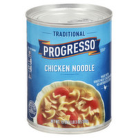 Progresso Soup, Chicken Noodle, Traditional, 19 Ounce