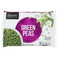Essential Everyday Green Peas, 16 Ounce