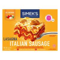 Simek's Lasagna, Italian Sausage, 32 Ounce