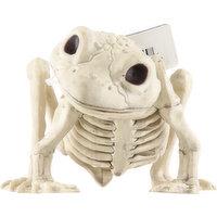 Crazy Bonez Decoration, Skeleton Frog, 1 Each