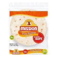 Mission Flour Tortillas, Soft Taco, 10 Each