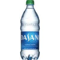 Dasani Water, Purified, 20 Ounce