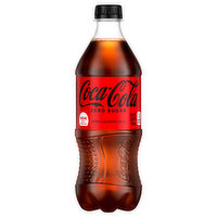 Coca-Cola Cola, Zero Sugar, 20 Fluid ounce