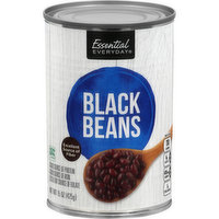 Essential Everyday Black Beans, 15 Ounce