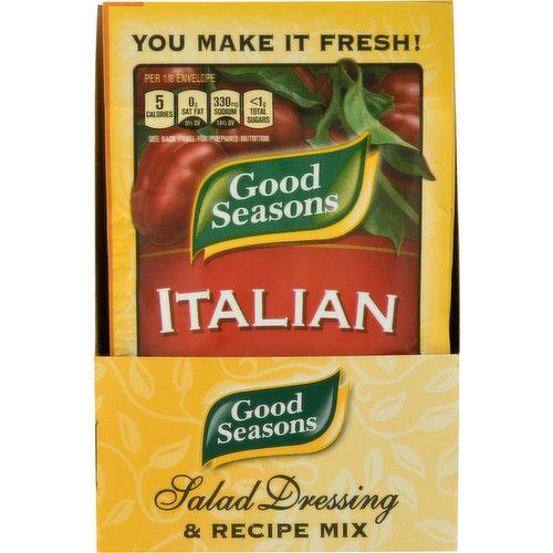Salad Dressing & Recipe Mix, Italian