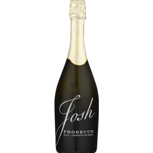I created my wines as a tribute to my dad, Josh. He's always on my mind. - Joseph Carr. Founder and Son. We made this Josh Cellars Prosecco with the same care and uncompromising commitment to qualify instilled in me by my father, Josh. Made from grapes in the Prosecco DOC region of Northeastern Italy, the wine has refreshing acidity and a touch of sweetness from the ripe fruit. You may smell scent of pear, green apples and citrus. In the mouth, the light effervescence provide a vibrant, racy texture. It's a sparkling wine we make for your family, friends and in honor of the man I called Dad. Josh Cellars. www.joshcellars.com. Alc. 11% by vol. 22 Product of Italy. Produced & bottled for Josh Cellars by CDC SRL - Tarzo - Italy - Imported by Deutsch Family wine & spirits, Stamford, CT.