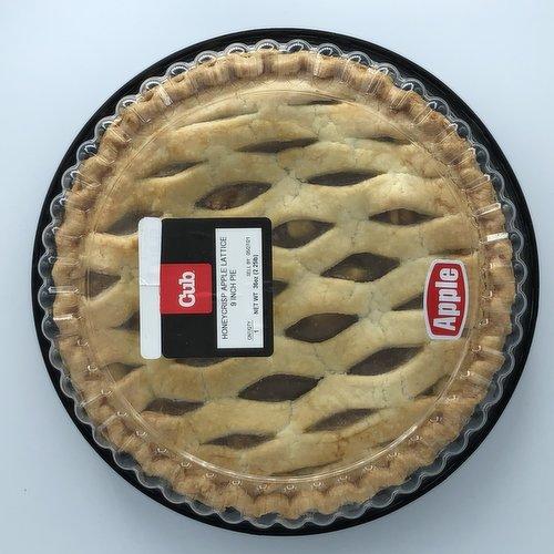"Honey Crisp Apple Pie 9"""