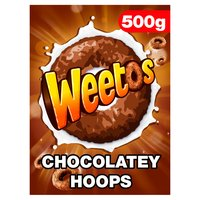Weetos Chocolate Hoops Cereal 500g