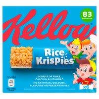 Kellogg's Rice Krispies Cereal Bars 6 x 20g (120g)