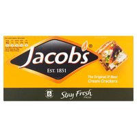 Jacob's Stayfresh Cream Crackers 6 x 30g (180g)