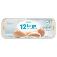Dunnes Stores 12 Large Farm Fresh Irish Eggs