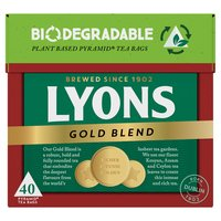 Lyons Tea Gold 40 Tea Bags