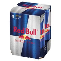Red Bull Energy Drink 250ml (4 Pack)