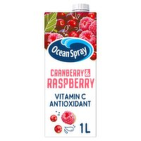 Ocean Spray Cranberry & Raspberry 1 Litre