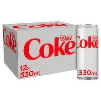 Diet Coke 12 x 330ml