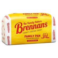 Brennans Family Pan Premium White Bread 800g