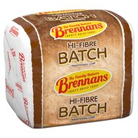 Brennans Hi-Fibre Batch Traditional Loaf 800g