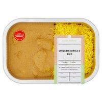 Baxter & Greene Chicken Korma & Rice 500g