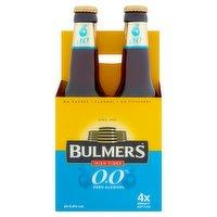 Bulmers Irish Cider 0.0% Zero Alcohol 4 x 330ml