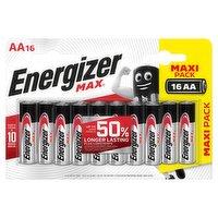 Energizer Max® AA Batteries, Alkaline 16 Pack