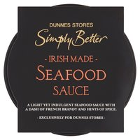 Dunnes Stores Simply Better Irish Made Seafood Sauce 150g