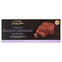 Dunnes Stores Simply Better 4 Handmade Belgian Chocolate Brownies 180g