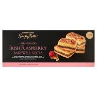 Dunnes Stores Simply Better 4 Handmade Irish Raspberry Bakewell Slices 200g