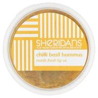 Sheridans Cheesemongers Chilli Basil Hummus 140g