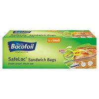 Bacofoil SafeLoc Sandwich Bags 25 x Small