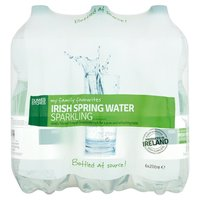Dunnes Stores My Family Favourites Irish Spring Water Sparkling 6 x 2 Litre