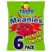 Tayto Meanies Multipack Snacks 6 Pack 102g