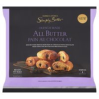 Dunnes Stores Simply Better French Made All Butter Pain Au Chocolat 4 x 75g (300g)