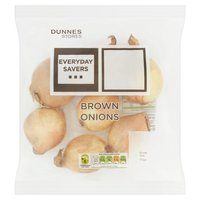 Dunnes Stores Everyday Savers Brown Onions 800g
