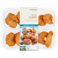 Dunnes Stores Breaded Scampi 210g