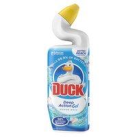 Duck Toilet Deep Action Gel Liquid Cleaner Marine 750ml