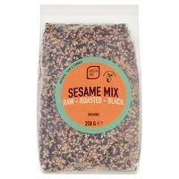 Green Age Raw, Roasted, Black Sesame Mix 250g
