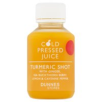 Dunnes Stores Cold Pressed Juice Turmeric Shot 100ml
