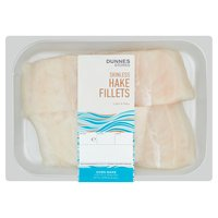 Dunnes Stores Skinless Hake Fillets
